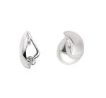 925 Silber Clip im modernen Design ca.13,7 x 16,9 mm