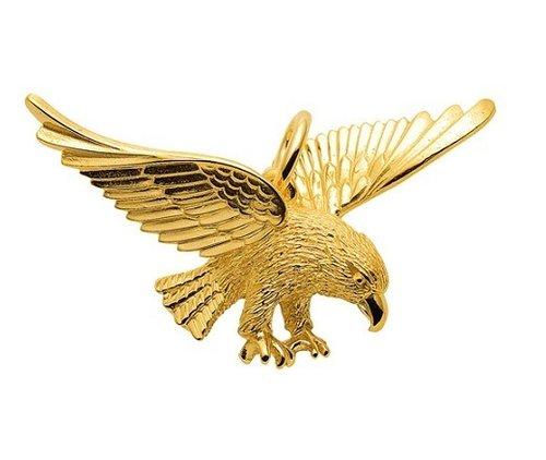 """333 Gold """"Adler"""" Kettenanhänger 40,2 x 34,3 mm"""