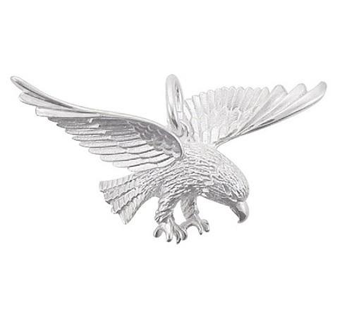 """925 Silber """"Adler"""" Kettenanhänger 40,2 x 30,5mm"""