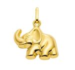 333 Gold Elefant Kettenanhänger 11,5 x 18,2 mm