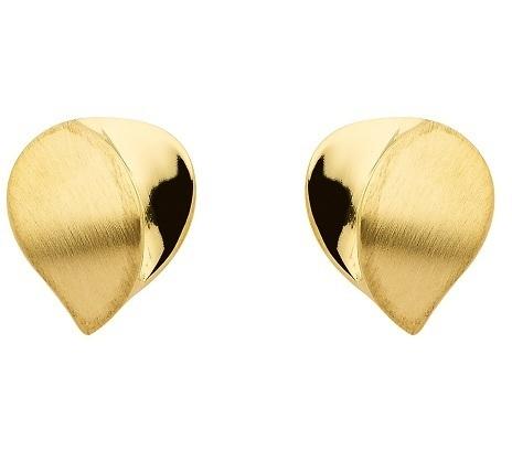 333 Gold Ohrstecker matt/glänzend