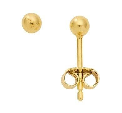 333 Gold Ohrstecker Kugel 4 mm Durchmesser