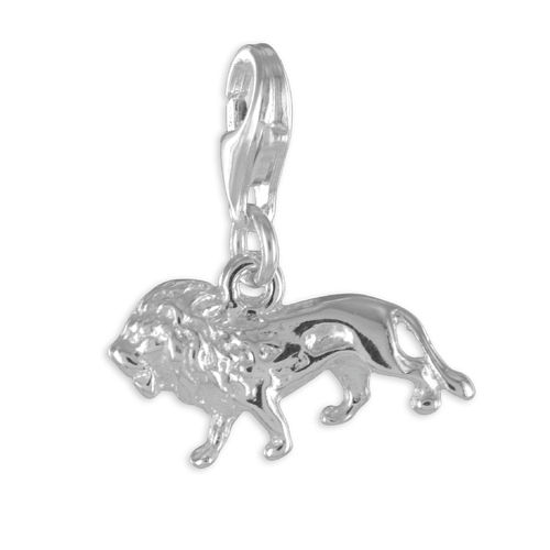 Silber Löwe Kettenanhänger Charms