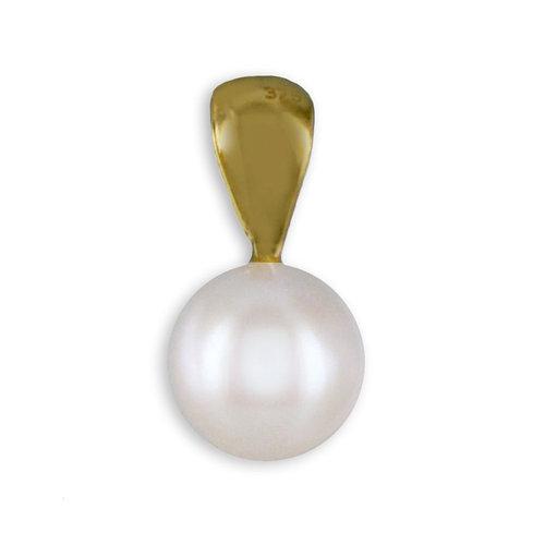 375 Gold Kettenanhänger mit Perle ca 6mm