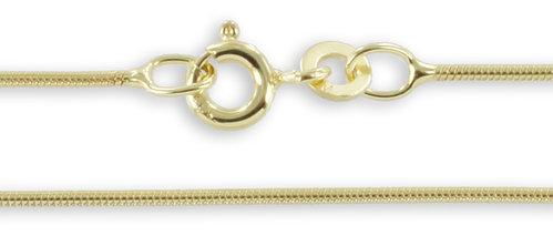 Goldkette Schlangenkette 333 Gelbgold 0,9 mm