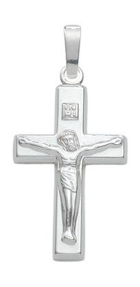 925 Silber Kreuzanhänger 19,6 mm Länge