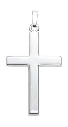 Schlichtes einfaches Kreuz in 925 Silber