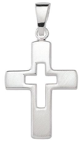 Kreuz in 925 Silber