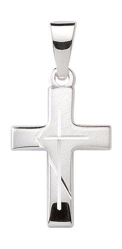 925 Silber Kreuzanhänger 1,5cm Länge