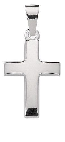 Schlichtes 15,9 mm Kreuz in 925 Silber