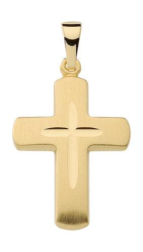 333 Gold Kreuzanhänger 18,9 mm lang