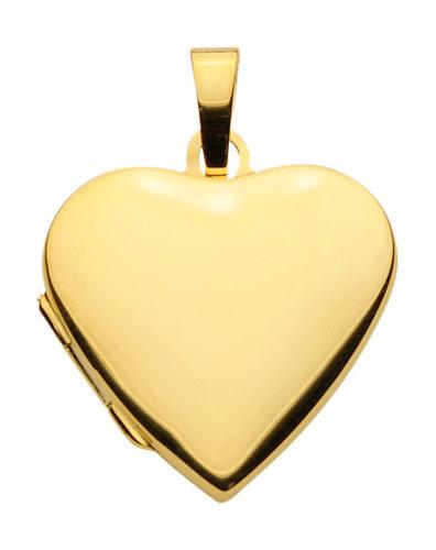 333 Gold Medallion Herzform