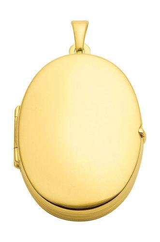 333 Gold Medaillon extra für 4 Bilder