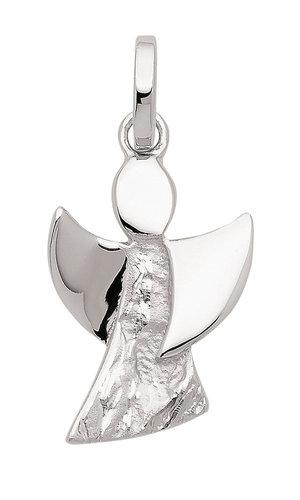 Engel Anhänger 925 Silber gehämmertes Design