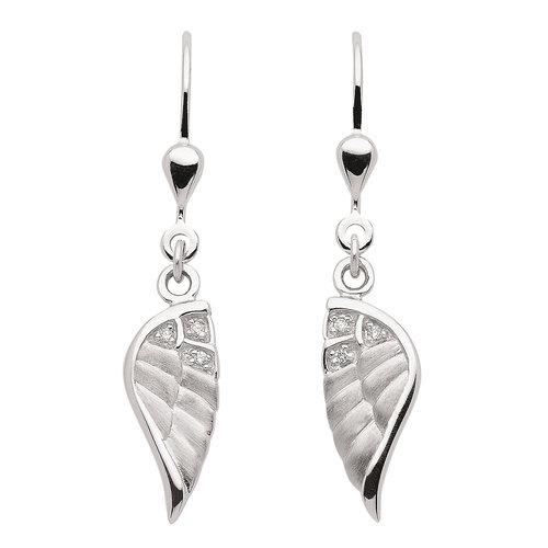 925 Silber Flügel Ohrhänger