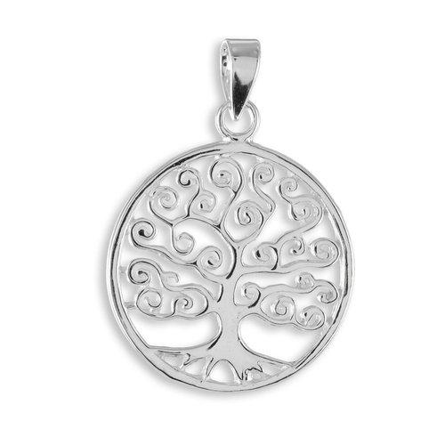 """925 Silber Anhänger """"Lebensbaum"""""""