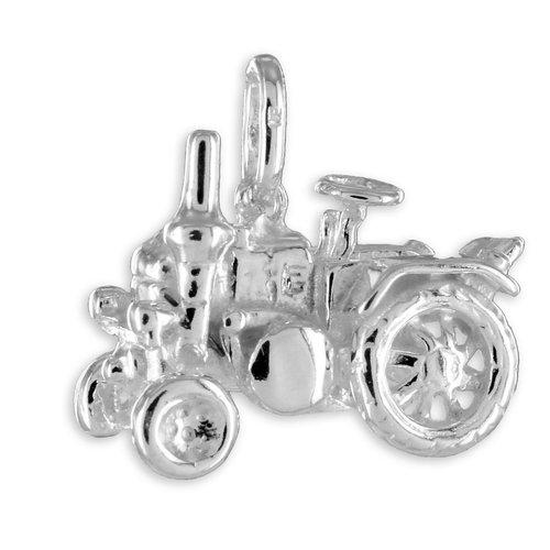 Lanz Traktor Kettenanhänger in 925 Silber