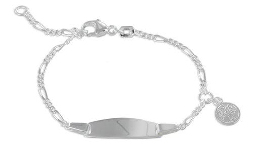 Armband in 925 Silber variable Größe von 12 - 14 cm